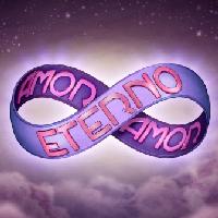 Logo Oficial da novela Amor Eterno Amor