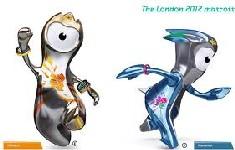 Londres 2012 - Mascotes